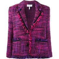 Escada Sport Tweed Single Breasted Jacket - Rosa