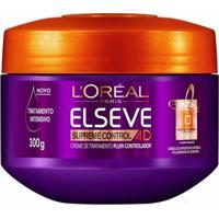 Creme Tratamento Elseve Supreme Control 4D L?Oréal 300Ml - Unissex-Incolor