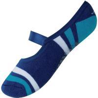 Meia Mash 225.11 Pilates Az09-Azul