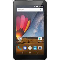 "Tablet Multilaser M7 Quad Core 7"" 8Gb Dual Chip Preto Nb269"