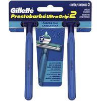 Aparelho Para Barbear Masculino Gillette Prestobarba Ultragrip Com 2 Unidades 2 Unidades