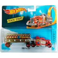 Carrinho Hot Wheels - Track Stars - Fuel And Fire - Mattel - Masculino