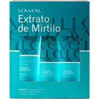 Lowell Complex Care Mirtilo Kit? Shampoo + Condicionador + Leave-In Kit - Unissex-Incolor