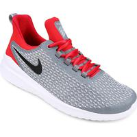 Tênis Nike Renew Rival Masculino - Masculino-Cinza+Vermelho