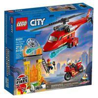 Lego® City - Helicóptero De Resgate De Bombeiros 60281 Lego
