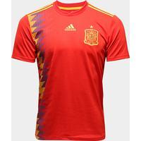 8f04cf10d6 Camisa Seleção Espanha Home 2018 S N° Torcedor Adidas Masculina - Masculino