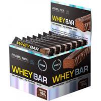 Barra De Proteína Probiótica Whey Bar - Chocolate - 24 Unidades