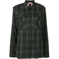 Nº21 Camisa Xadrez - Verde