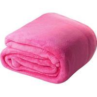 Manta Confort Baby Hazime Pink - Rosa - Dafiti
