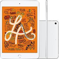 Tablet Apple Ipad Mini 5º Geração 7.9'' Wi-Fi + Cellular 64Gb Prata Muxg2