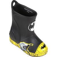 Bota Infantil Crocs Bump It Batman Dc - Masculino-Preto