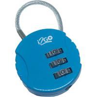 Cadeado I2Go Com Segredo - Azul