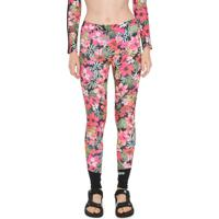 Legging Billabong Florest Laranja/Rosa