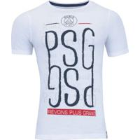 Camiseta Psg 3011004 - Masculina - Branco