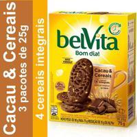 Biscoito Belvita Cacau E Cereais 75G 3 Unidades