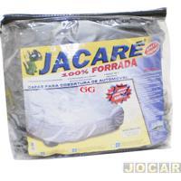 Capa De Carro - Bezi - S1-Duster/Spin/Toro/Azera/Picasso/Fusion/Opala - Gg - Jacaré - Impermeável - 100% Forrada - Cinza - Cada (Unidade) - 703577