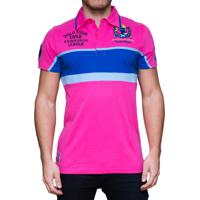 101c19976f Camisa Polo Kevingston Taylor Rugby Sco Rosa Azul