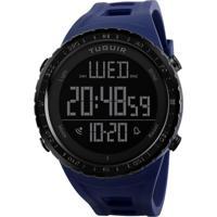 Relógio Tuguir Digital Tg1246 Azul