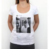 Tyler Durden - Camiseta Clássica Feminina