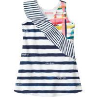 Vestido Lilica Ripilica Infantil 101102180001 Branco - Tricae
