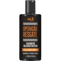 Shampoo Widi Care Operação Resgate - Reconstrutor 300Ml - Unissex-Incolor
