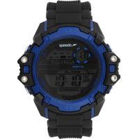 Relógio Speedo 65057G0E Preto/Azul