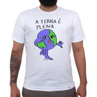 A Terra É Plena - Camiseta Clássica Masculina