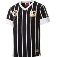 Camisa Retrô Gol Sócrates Ex - Corinthians 1983 Torcedor Masculina - Masculino