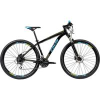 "Bicicleta Mtb Caloi Atacama Aro 29 - Susp Diant - 19 - 24 Vel - Preto"""
