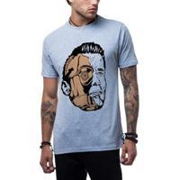 Camiseta Ukkan Terminator Wars Masculina - Masculino-Mescla