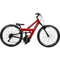 Bicicleta Master Bike Aro 26 Kanguru Rebaixada 21 V A-36 - Unissex