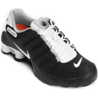 cc112a2cb0 Tênis Nike Shox Turbo Masculino Branco Preto - MuccaShop