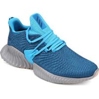 Tênis Adidas Alphabounce Instinct Masculino - Masculino-Azul+Cinza