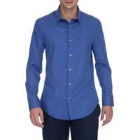Camisa Slim Cannes Com Bolso - 42