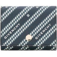 Givenchy Carteira Com Estampa De Logo - Azul