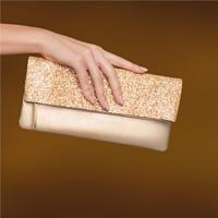 Clutch Luxo Dourado Eudora
