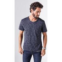 Camiseta Double Ft Reserva Masculina - Masculino-Preto