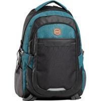 8501f17a0 ... Mochila Vlcs Emborrachada Com Porta Laptop - Unissex-Cinza+Azul