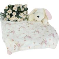 Naninha C/ Porta Chupeta Laura Baby - Cachorrinha Floral Rosa