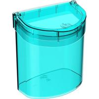 Lixeira Glass Para Pia- Verde ÁGua- - 2,7L- Coza
