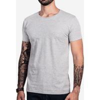 Camiseta Básica Mescla Escuro 103281