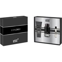 Kit Montblanc Perfume Explorer Eau De Parfum 100Ml + Aftershave 100Ml + Mini 7,5Ml Masculino Único