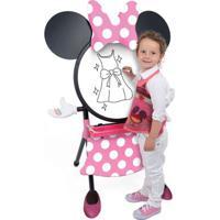 Conjunto De Artes E Atividades - Lousa 2 Em 1 - Disney - Minnie Mouse - Disney - New Toys