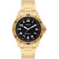 Relógio Analógico Orient Masculino - Mgss1105A P2Kx Dourado