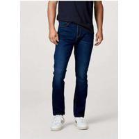 Calça Jeans Masculina Slim Soft Touch Azul