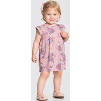 Vestido Bebê Menina Floral Rosa - Alakazoo