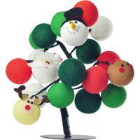 Árvore De Luz De Natal Merry Mix Cormilu Verde