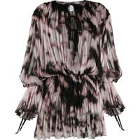 Redemption Abstract Print Dress - Rosa