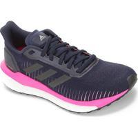 Tênis Adidas Solar Drive Feminino - Feminino-Azul+Rosa