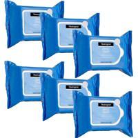Kit Com 6 Demaquilantes Neutrogena Deep Clean 25 Unidades